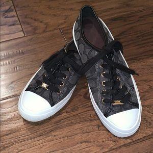 Coach Signature Empire Tennis Shoes, 8